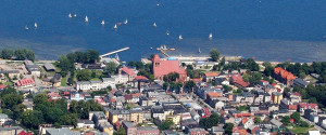 puck - bird's eye view seaside resort